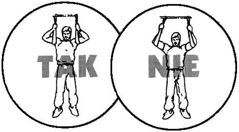 abs ćwiczenia unoszenie nóg 1
