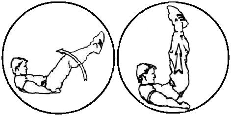 ćwiczenia na brzuch abs 2