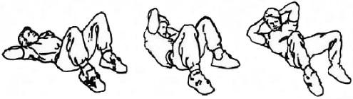 ćwiczenia na brzuch skręty tułowia