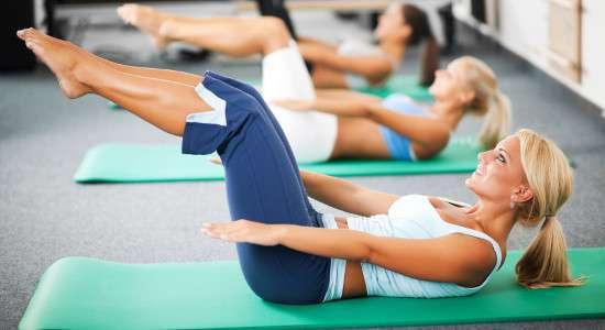 Pilates na brzuch