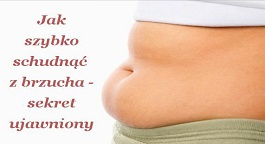 Jak szybko schudnąć z brzucha