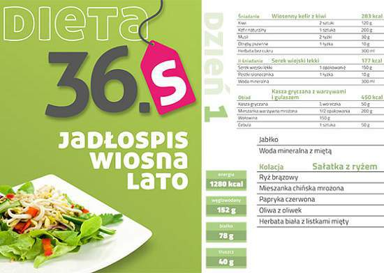 dieta 36s jadłospis