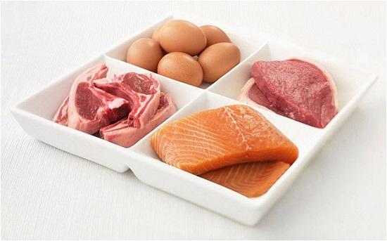 oponka na brzuchu białko
