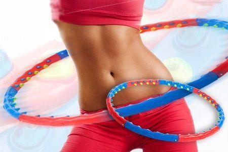 Kręć i chudnij! Kinga Rusin i Piotr Kraśko na treningu hula-hoop | Mangosteen