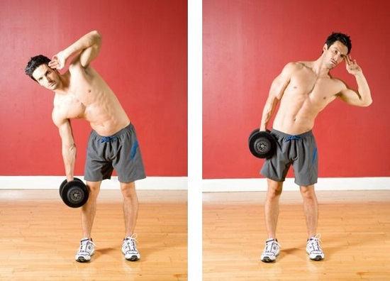 ćwiczenia na mięśnie skośne brzucha